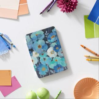 Protection iPad Mini Fleurs d'indigo