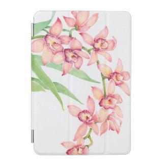 Protection iPad Mini Fleurs roses d'aquarelle