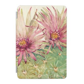 Protection iPad Mini Fleurs roses de cactus