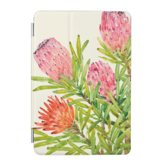 Protection iPad Mini Fleurs tropicales d'aquarelle