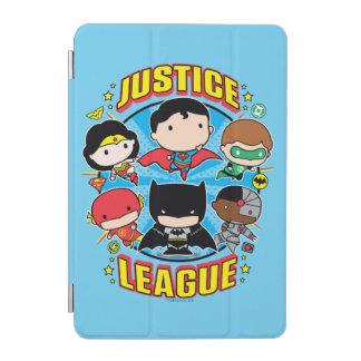 Protection iPad Mini Groupe de ligue de justice de Chibi
