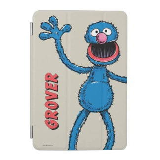 Protection iPad Mini Grover vintage