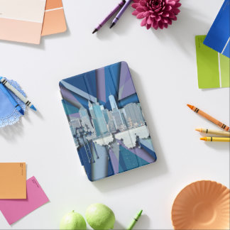 Protection iPad Mini Horizon | 3D bleu de New York City