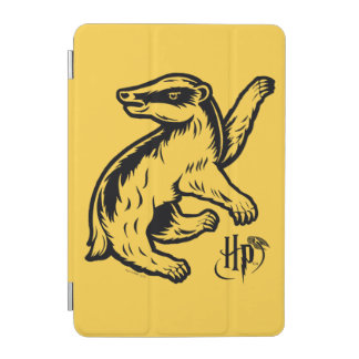 Protection iPad Mini Icône de blaireau de Harry Potter | Hufflepuff