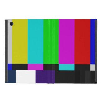 Protection iPad Mini La TV barre l'essai de couleur