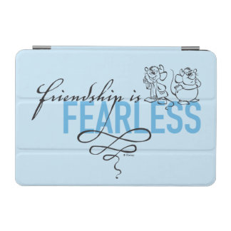 Protection iPad Mini L'amitié de Cendrillon | est courageuse