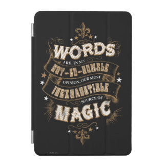 Protection iPad Mini Les mots du charme | de Harry Potter sont notre la