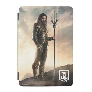 Protection iPad Mini Ligue de justice | Aquaman sur le champ de