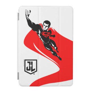 Protection iPad Mini Ligue de justice | Superman pilotant l'art de