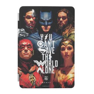 Protection iPad Mini Ligue de justice | vous ne pouvez pas sauver seul