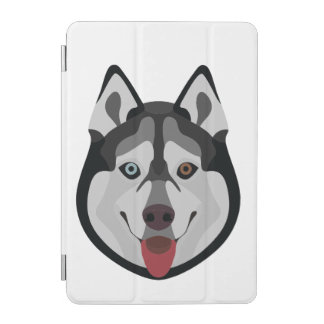 Protection iPad Mini L'illustration poursuit le chien de traîneau