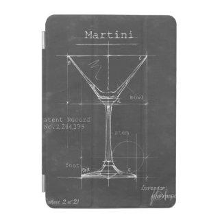 Protection iPad Mini Modèle noir et blanc en verre de Martini