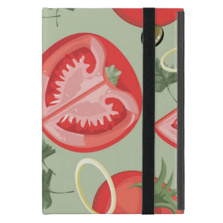Protection iPad Mini Motif abstrait avec la tomate