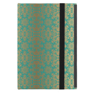 Protection iPad Mini Motif antique royal de luxe floral