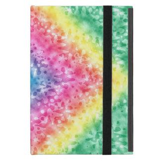 Protection iPad Mini Motif coloré d'arc-en-ciel