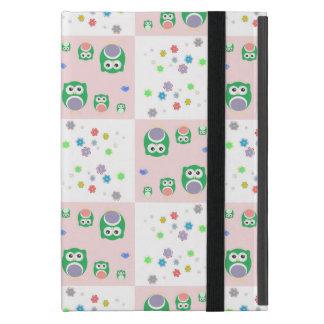 Protection iPad Mini Motif coloré de hibou pour des enfants