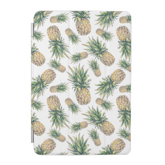 Protection iPad Mini Motif d'ananas d'aquarelle
