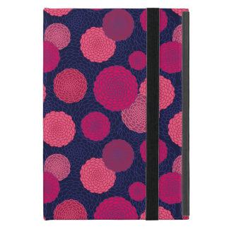 Protection iPad Mini Motif de fleurs rond