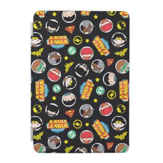 Protection iPad Mini Motif de héros et de logos de ligue de justice de