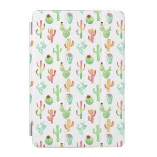 Protection iPad Mini Motif en pastel d'aquarelle de cactus