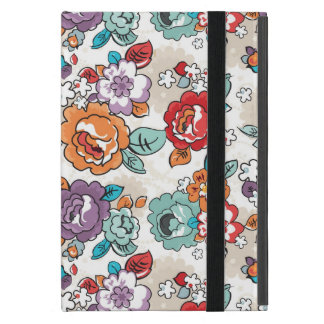 Protection iPad Mini Motif floral 5 d'élégance abstraite