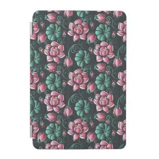 Protection iPad Mini Motif floral élégant de motif rose de Lotus