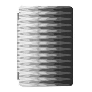 Protection iPad Mini Motif gris blanc noir de zigzag