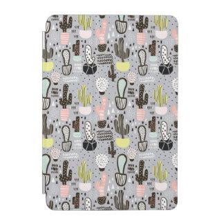 Protection iPad Mini Motif texturisé tiré par la main de cactus