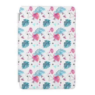 Protection iPad Mini Motif tropical de triangle de feuille