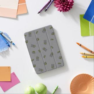 Protection iPad Mini Oscar le motif gris du rouspéteur |