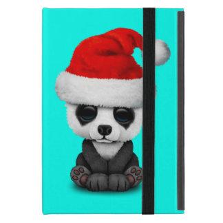 Protection iPad Mini Ours panda de bébé utilisant un casquette de Père