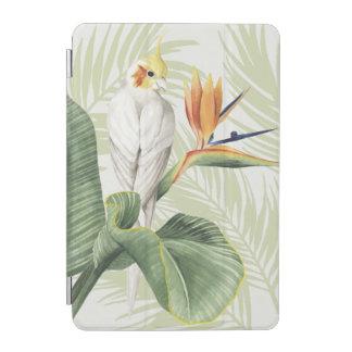 Protection iPad Mini Palmettes avec l'oiseau blanc