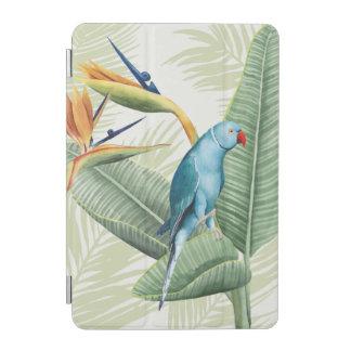 Protection iPad Mini Palmettes avec l'oiseau bleu