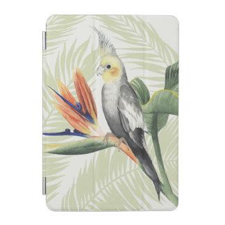 Protection iPad Mini Palmettes avec l'oiseau noir