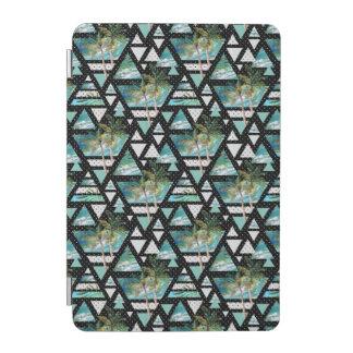 Protection iPad Mini Paumes géométriques abstraites et motif de vagues