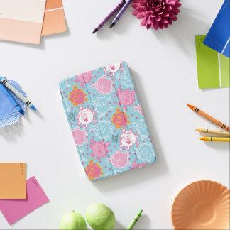 Protection iPad Mini Petite Mlle le princesse | motif assez rose et