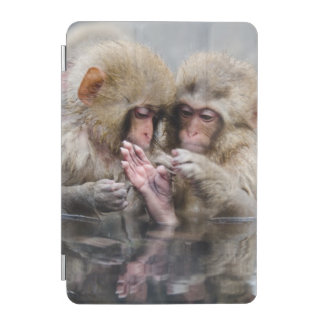 Protection iPad Mini Petits singes | Hot Springs, Japon