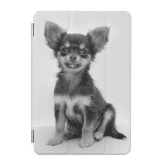 Protection iPad Mini Photo noire et blanche de chiot de chiwawa