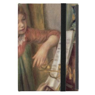 Protection iPad Mini Pierre jeunes filles de Renoir un   au piano