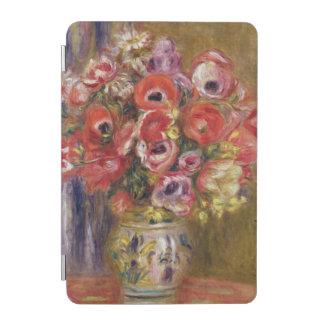Protection iPad Mini Pierre un vase à Renoir | de tulipes et d'anémones