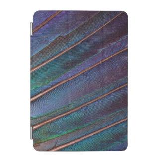 Protection iPad Mini Plumes bleues de Turaco
