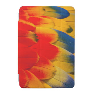 Protection iPad Mini Plumes d'ara d'écarlate