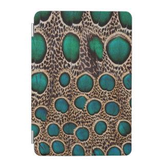 Protection iPad Mini Plumes de faisan de paon d'Ombre