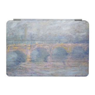 Protection iPad Mini Pont de Claude Monet | Waterloo, Londres, au