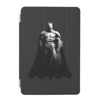 Protection iPad Mini Pose large noire et blanche de la ville | Batman