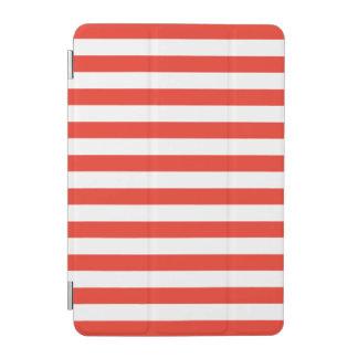 Protection iPad Mini Rayures rouges horizontales