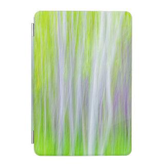 Protection iPad Mini Résumé de la traînée de rivière des arbres |