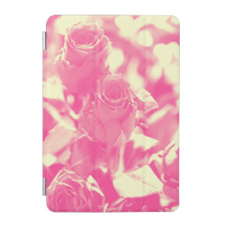 Protection iPad Mini Rose et roses jaunes mous
