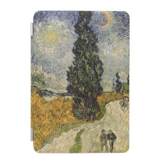 Protection iPad Mini Route de Vincent van Gogh | avec des cyprès, 1890