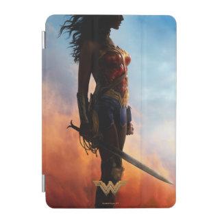 Protection iPad Mini Silhouette de tempête de poussière de femme de